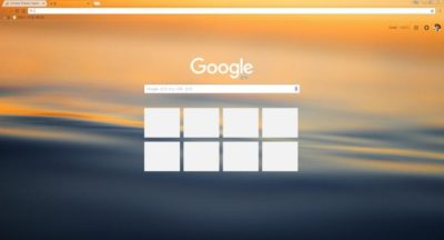 Wave Chrome Theme