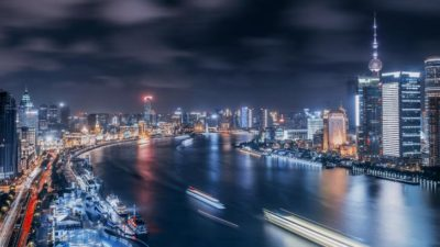 Night in Shanghai Chrome Theme