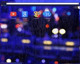 Rain / Lights Chrome Theme