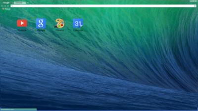 Mac os sierra Chrome Theme