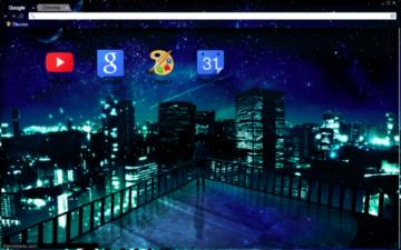 City Lights Chrome Theme