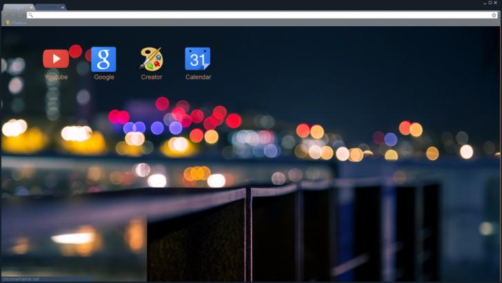 citylights Chrome Theme