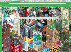 Cartoon City Theme Chrome Theme