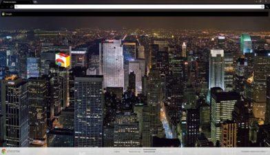 New York Night Chrome Theme